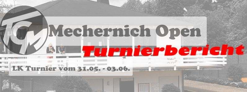 Mechernich Open 2018
